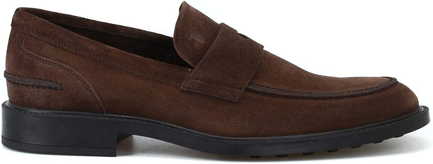 Tod's Luxury Fashion Mens XXM45A00640RE0S800 Brown Loafers | Season Permanent 51LSVxfb7UL