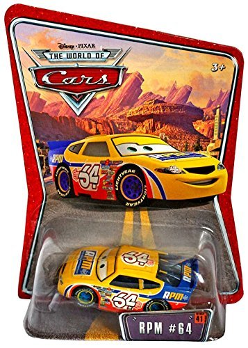 Mattel Rpm Disney Pixar World Of Cars Background Card Edition 1:55 Scale