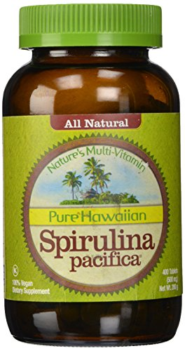 Nutrex Hawaii Pure Hawaiian Spirulina Pacifica -- 500 mg - 400 Tablets