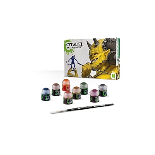 Games Workshop Citadel Shade Paint Set Review