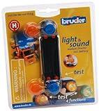 Bruder 02801 - Zubehör: Light& Sound Modul (Lastkraftwagen)