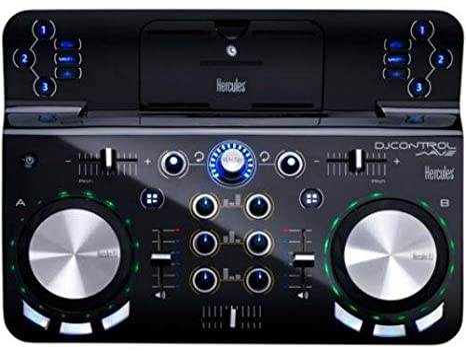 Hercules Control Wave - Controlador de DJ (Bluetooth 3.0, USB, 5 V ...