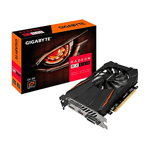 Gigabyte GV-RX560OC-2GD Radeon RX 560 OC 2G Graphic Card