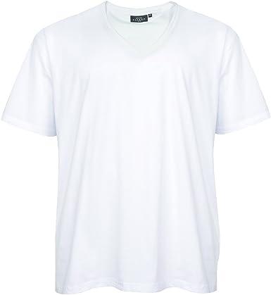 Camiseta básica Blanca en Tallas XXL de Kitaro: Amazon.es: Ropa y accesorios