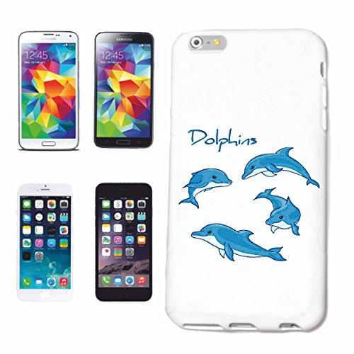"cas de téléphone iPhone 7S ""DOLPHIN DOLPHIN FLIPPER OCEAN MEDITERRANEE dophin"" Hard Case Cover Téléphone Covers Smart Cover pour Apple iPhone en blanc"