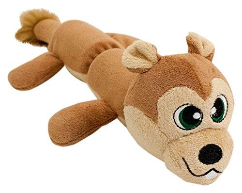 Hyper Pet Cozy Critter Skinz Squirrel Plush Dog Toy
