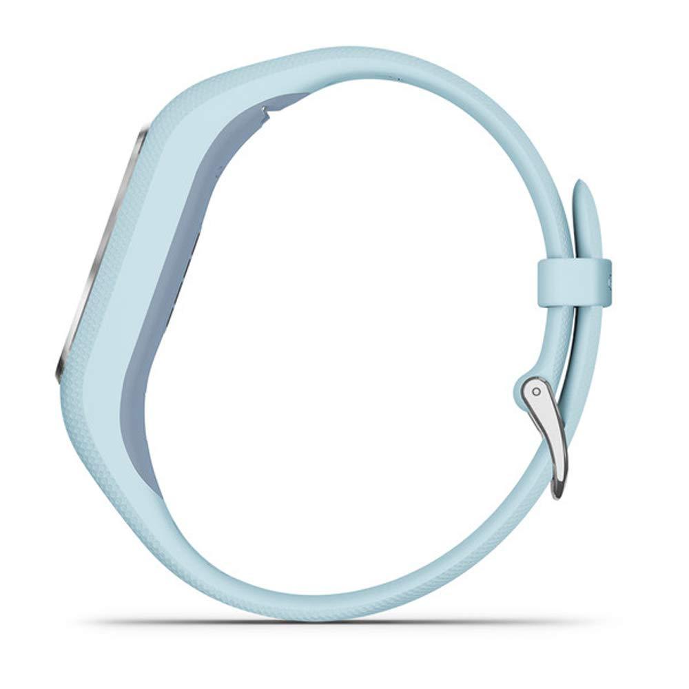 Garmin Vivosmart 4 Azure Blue with Silver Hardware (S/M) (010-01995-14) with Deco Gear 7-Piece Fitness Kit by Garmin (Image #8)