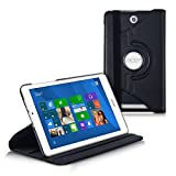 kwmobile Case 360° for Acer Iconia Tab 8 W1-810 Case with stand - protective tablet cover with standing function in black
