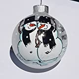 Just Married Gay Marriage Ornament Men