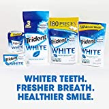 Trident White Peppermint Sugar Free Gum, Value