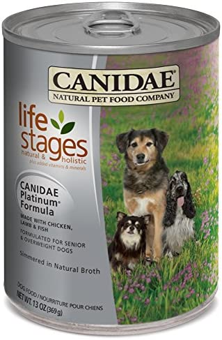 CANIDAE All Life Stages Platinum Chicken, Lamb Fish Wet Dog Food