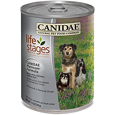 CANIDAE All Life Stages Platinum Chicken, Lamb & Fish Wet Dog Food