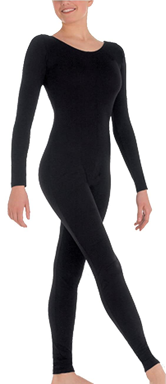 464629ab2676 Amazon.com  Body Wrappers Little Girls MicroTECH Long Sleeve Unitard ...