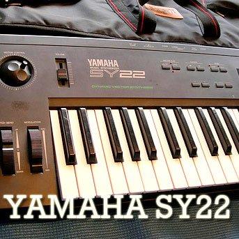 YAMAHA SY-22 Huge Sound Library & Editors on
