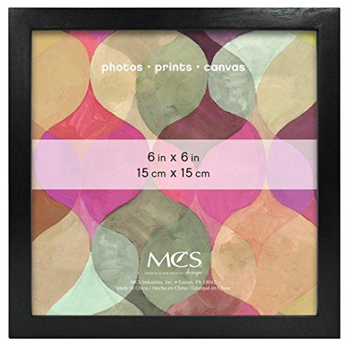 MCS 6x6 Inch Art Frame, Black