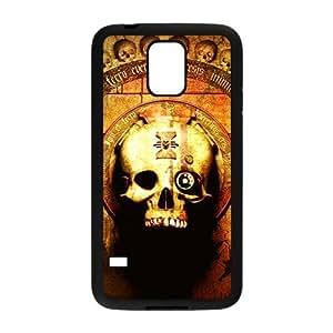 Skull Pattern Custom Protective Hard Phone Cae For Samsung Galaxy S5