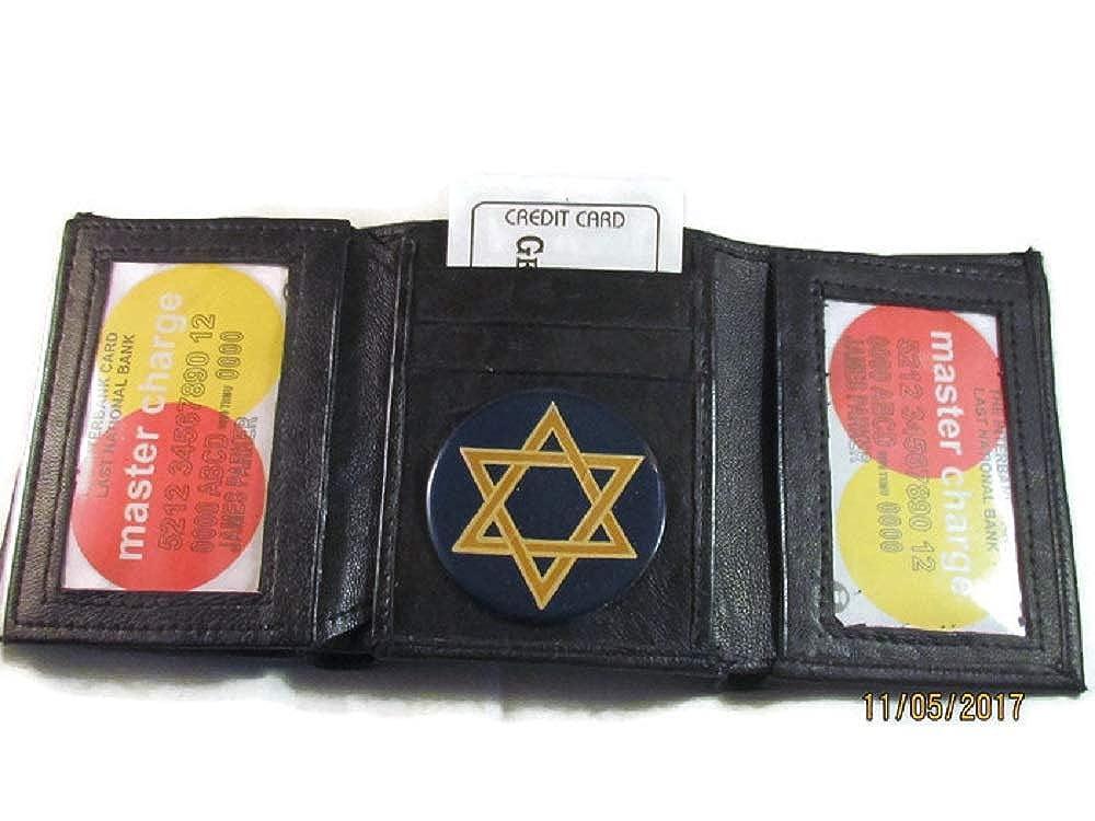 Amazon.com: Cartel de la estrella de JEWISH de David negro ...