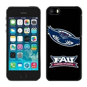 taoyix diy Designer Black Iphone 5c Case Ncaa Conference USA Florida Atlantic Owls 3 Perfect Phone Accessories