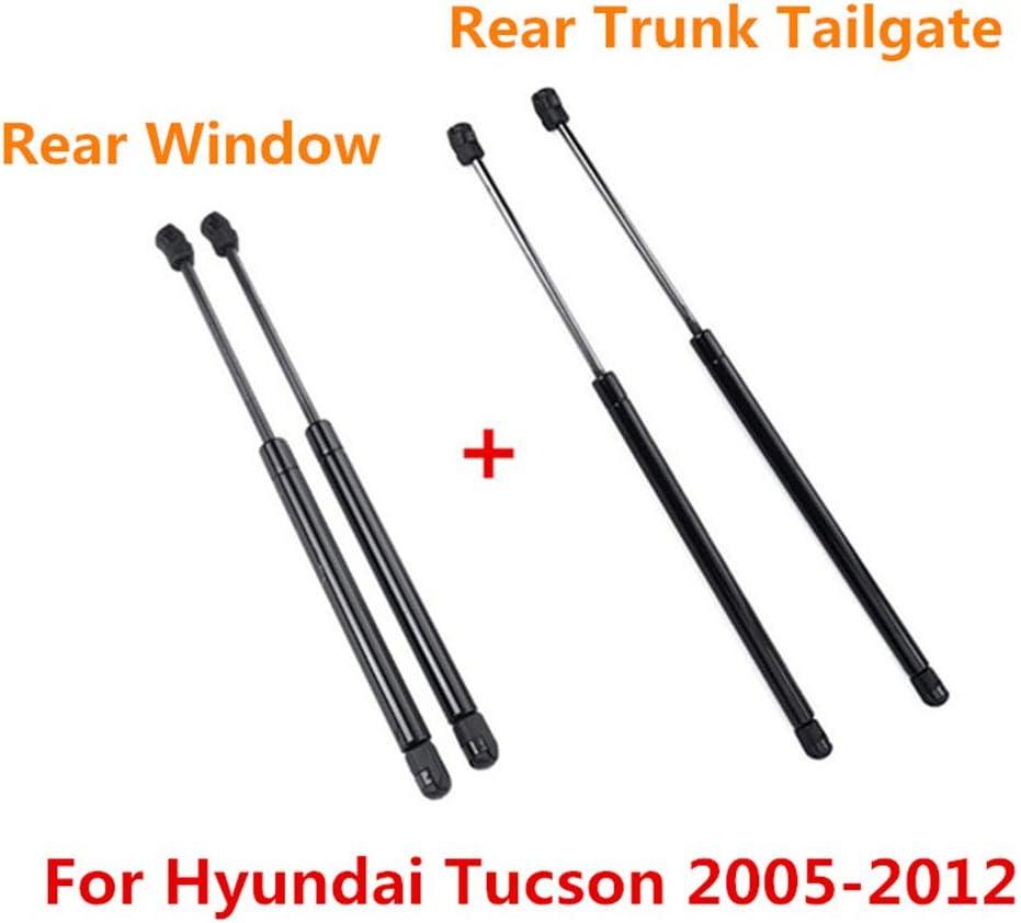 2 pour Hyundai Tucson 05-12 4X Coffre arri/ère hayon hayon fen/être arri/ère en Verre v/érin /à Ressort Amortisseur contrefiches Soutien SG367011 SG367012