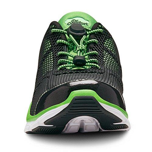 Dr. Comfort Jason Herren Sneaker Grün