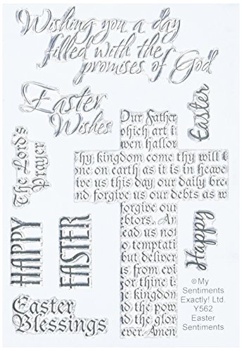 Easter Stamps (MSE Y562 Easter Sentiments My Sentiments Exactly Stamps Sheet, 4