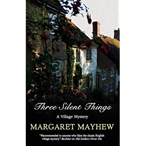 Three Silent Things (Severn House Large Print)