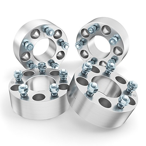 RockTrix 4pcs 1.5 inch Wheel Adapters 5x5.5 to 5x135 (Changes Bolt Pattern) with 1/2x20 Studs for Dodge Ram 1500 Dakota Durango Ford F100 F150 Bronco (5x139.7 to 5x135) Spacers 5 X 135 Bolt Pattern