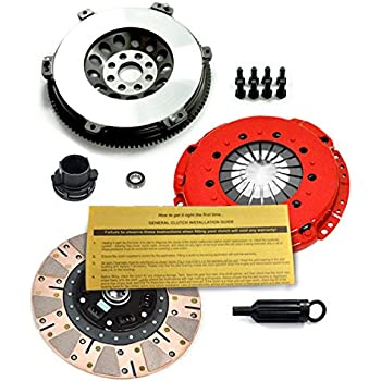 EFT STAGE 3 MULTI-FRICTION CLUTCH KIT+CHROMOLY FLYWHEEL for 01-06 BMW M3 E46 S54
