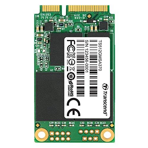 12 opinioni per Transcend TS512GMSA370 Unità SSD mSata, 512 GB, SATA 3, MLC, Nero/Antracite