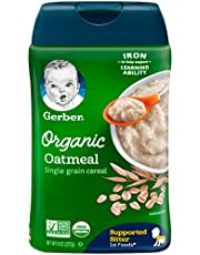 Gerber Baby Cereal Organic Cereal