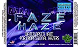 Faze Haze - Professional Water Based Haze Juice - for use in Antari Fazers, Chauvet Hazers, Base Hazer Pro and Martin Compact Hazers - 4 Gallon Case
