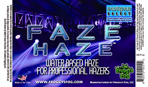 Faze Haze - Professional Water Based Haze Juice - for use in Antari Fazers, Chauvet Hazers, Base Hazer Pro and Martin Compact Hazers - 5 Gallon Pail