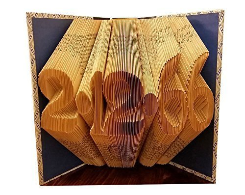 Anniversary Date - Folded Book Art - FREE SHIPPING - Paper Anniversary - Anniversary Gift - Wedding Gift - Wedding Decorations - Gift for Loved - Mail Usps Time Priority International