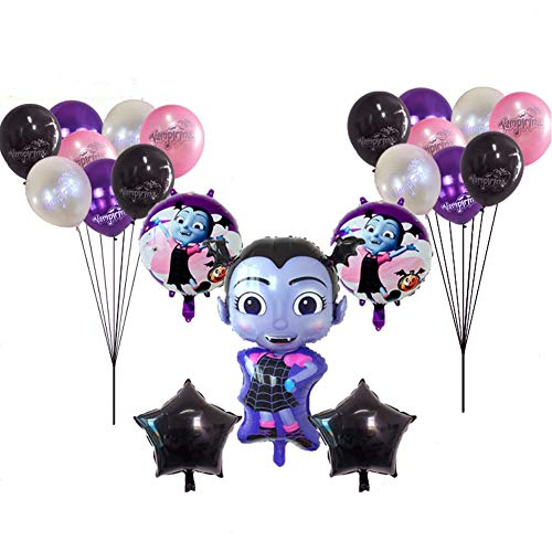 bili-silly Vampirina Balloons Birthday Party Supplies - Kid