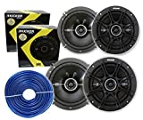 4) Kicker 41DSC654 6.5'' 480 Watt 2-Way (2 PAIRS) + FREE 18 Gauge 50ft Speaker Wire**