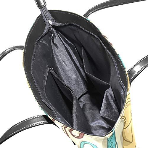 TIZORAX l'épaule à Multicolore à femme pour porter Sac rTYfr