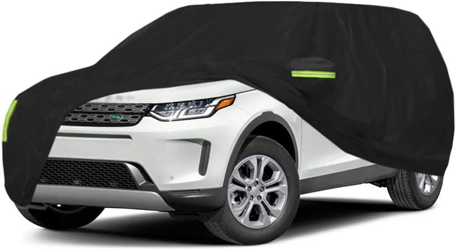 Cubierta de coche Compatible con Land Rover Range Rover Evoque SUV Cubiertas del autom/óvil Lona del autom/óvil Todo el d/ía Impermeable y a prueba de viento A prueba de nieve A prueba de polvo contra