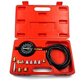Öldruckprüfer Öldrucktester Set Öl-Meßgerät Öldruckmesser Werkzeug