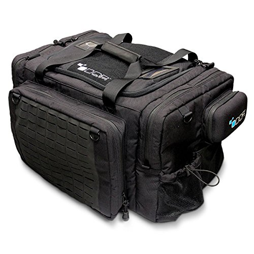 Odor Crusher Ozone 3.0 Mission Duty Duffle Bag, Patrol Bag, Eliminates Odors from Gear and Clothing, Size 22″ L x 15.5″ W x 12.5″ H