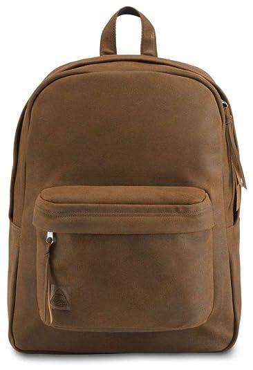 a9ee3e64e0 JanSport Superbreak Leather Backpack - Vintage Brown Leather