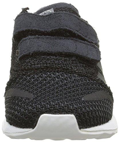 adidas Los Angeles - Zapatos de primeros pasos Bebé-Niñas Negro - Noir (Cblanc/Cblanc/ Ftwr White)