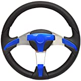 Uflex USA Boat Steering Wheel GORGONA-BL/P/CP | Metallic Blue