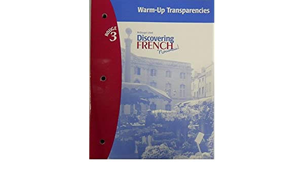 Amazon.com: Discovering French, Nouveau!: Warm-Up Transparencies