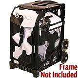 Cheap Zuca SIBMU243 Sport Insert Bag Muca Black White Cow Print W Pink Lining 89055900243