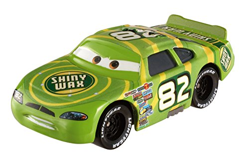Disney/Pixar Cars Piston Cup Darren Leadfoot (Shiny Wax) Vehicle