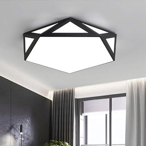 Moderno LED Lámpara de Techo Luz de Techo de Hierro Forjado ...