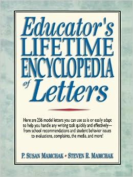 Educator's Encylopedia of Letters