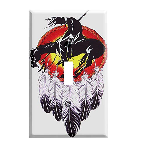 American Indian Dream Catcher Switchplate - Switch Plate Cover