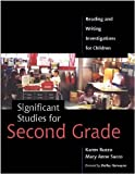 img - for Significant Studies for Second Grade: Reading and Writing Investigations for Children book / textbook / text book