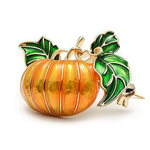 GUAngqi Pumpkin Brooch Pins Halloween Brooch Pin Unisex for Women&Men Wedding/Dailywear/Banquet